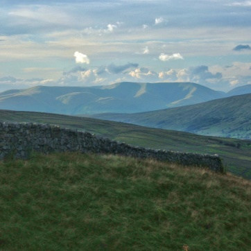 Dentdale and the Howgill Fells, July 2007