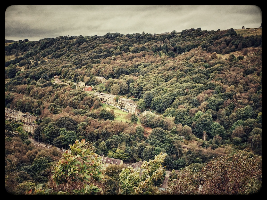Charlestown and Knott Wood, Upper Calder Valley, September 2016