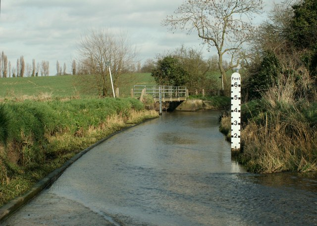 The ford on Hurrells Lane - Robert Edwards